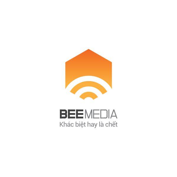 Thiết kế logo Bee Media