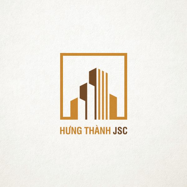 Thiết kế logo bất động sản Hưng Thành