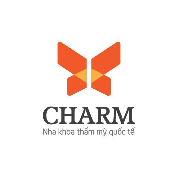 Thiết kế logo Nha khoa thẩm mỹ quốc tế Charm
