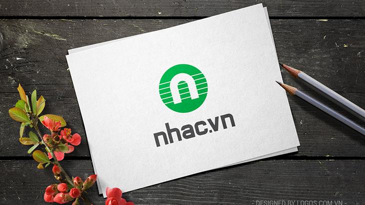 Thiết kế logo Nhac.vn